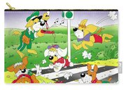 Cute Animals Crossing The Street Carry-all Pouch