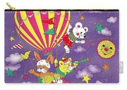Cute Animals In Air Balloon Carry-all Pouch