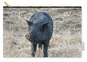 Cute Black Pig Carry-all Pouch