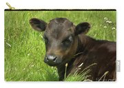 Cute Cow Carry-all Pouch by Terri Waters