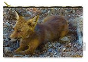 Cute Fox Friend  Carry-all Pouch by Colette V Hera Guggenheim