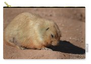 Cute Ground Squirrel Burrowing In The Dirt Carry-all Pouch
