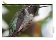 Cute Hummingbird Ready For Action Carry-all Pouch