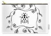 Cute Ladybug Baby Room Decor Iv Carry-all Pouch