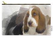 Cute Little Basset Artesien Normand Puppy Carry-all Pouch