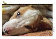 Cute Puppy Cuddles Carry-all Pouch