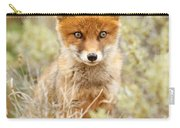 Cute Red Fox Kit Carry-all Pouch