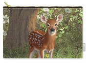 Cute Whitetail Fawn Carry-all Pouch