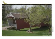 Cutler - Donahoe Covered Bridge - Madison County - Iowa Carry-all Pouch