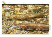Cutthroat Trout In Clear Mountain Stream Carry-all Pouch