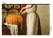 Cutting The Pumpkin Carry-all Pouch