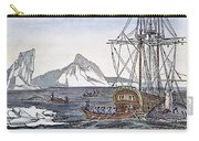 Cutting Up A Whale, C1840 Carry-all Pouch