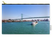 Cuyahoga Downbound At Detroit Carry-all Pouch