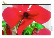 Cyclamen Carry-all Pouch