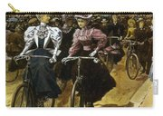 Cycling Fashions, 1895 Carry-all Pouch