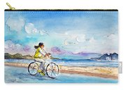 Cycling In Port De Pollenca In Majorca Carry-all Pouch