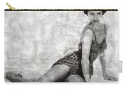 Cyd Charisse Hollywood Actress And Dancer Carry-all Pouch