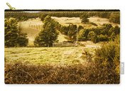 Cygnet Rustic Farming Fields Carry-all Pouch