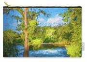 Cypress Tree By The River Carry-all Pouch