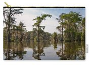 Cypress Trees And Spanish Moss In Lake Martin Carry-all Pouch