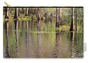 Cypresses Reflection Carry-all Pouch