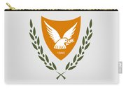 Cyprus Coat Of Arms Carry-all Pouch