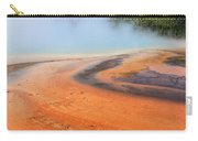 D09132 Colorful Grand Prismatic Spring Carry-all Pouch
