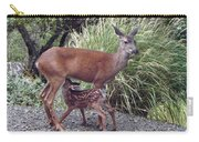 D2b6314 Fawn And Deer Mom Carry-all Pouch