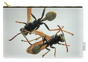 D2b6337 Wasps On Sonoma Mountain Carry-all Pouch