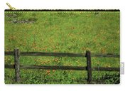 D7b6306 Fence And Poppies Carry-all Pouch
