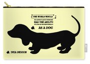 Dachshund - Puppy Love Carry-all Pouch