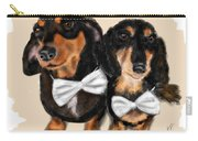 Dachshunds And Bowties Carry-all Pouch
