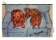 Dachshunds And Netflix  Carry-all Pouch