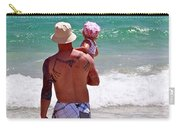 Dad And Daughter Carry-all Pouch
