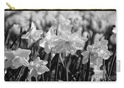Daffodil Glow Monochrome By Kaye Menner Carry-all Pouch