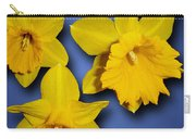 Daffodil Trio Carry-all Pouch