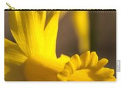 Daffodil Yellow Carry-all Pouch