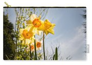 Daffodils Backlit Carry-all Pouch