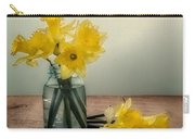 Daffodils In A Blue Jar Carry-all Pouch