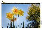 Daffodils In The Sky Carry-all Pouch