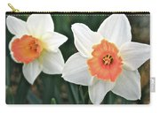 Daffodils Orange And White Carry-all Pouch