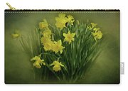 Daffodils Carry-all Pouch by Sandy Keeton