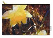 Daffs Gone Goth Carry-all Pouch