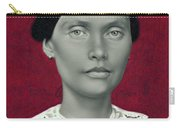 Daguerreotype Lady Detail Carry-all Pouch