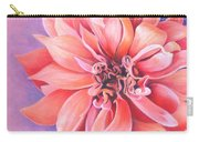 Dahlia 2 Carry-all Pouch by Phyllis Howard
