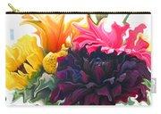 Dahlia Bouquet Carry-all Pouch