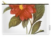 Dahlia (dahlia Pinnata) Carry-all Pouch by Granger