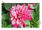 Dahlia Dripping Carry-all Pouch