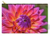 Dahlia Flower 017 Carry-all Pouch