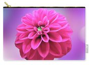 Dahlia On Color Carry-all Pouch